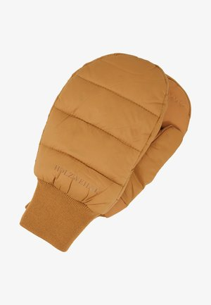 BUBBLE MITTEN - Wanten - camel