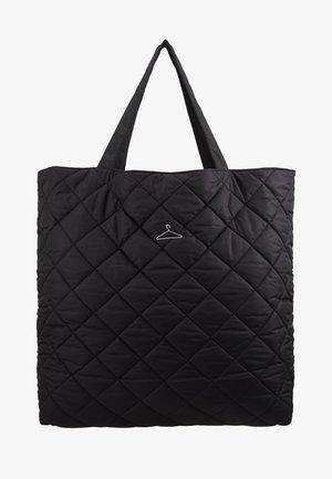 HANGER TOTE - Shopping Bag - black