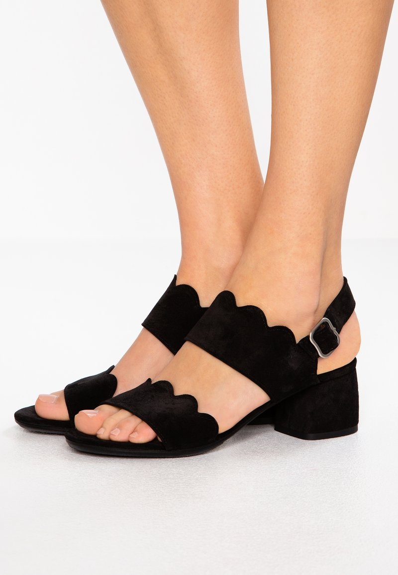 Homers - BASS - Riemensandalette - black