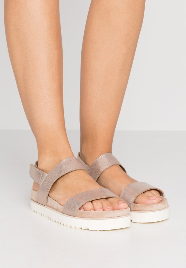 BIO - Sandals - smoky champagne