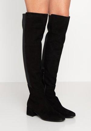 ALEXY - Stivali sopra il ginocchio - black