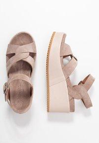 Homers - DUO - High Heel Sandalette - grey/rose - 3