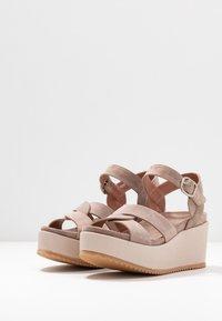 Homers - DUO - High Heel Sandalette - grey/rose - 4