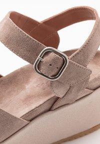 Homers - DUO - High Heel Sandalette - grey/rose - 2