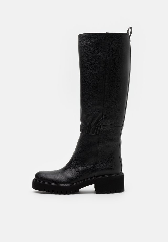 TINY - Plateaustiefel - black