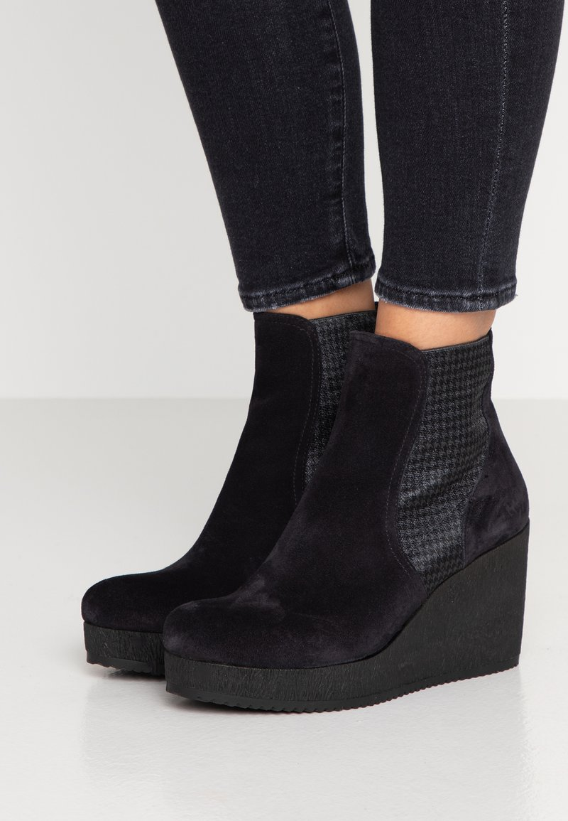 Homers - MICRO - High heeled ankle boots - sirena