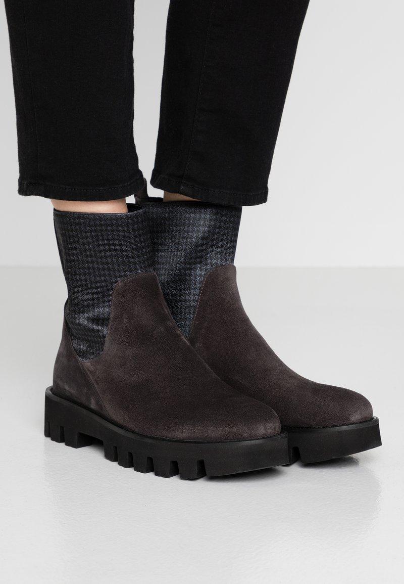 Homers - SIENA - Platform ankle boots - asphalto