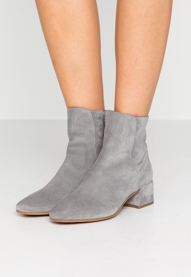 ALEXY - Ankle boots - pietra