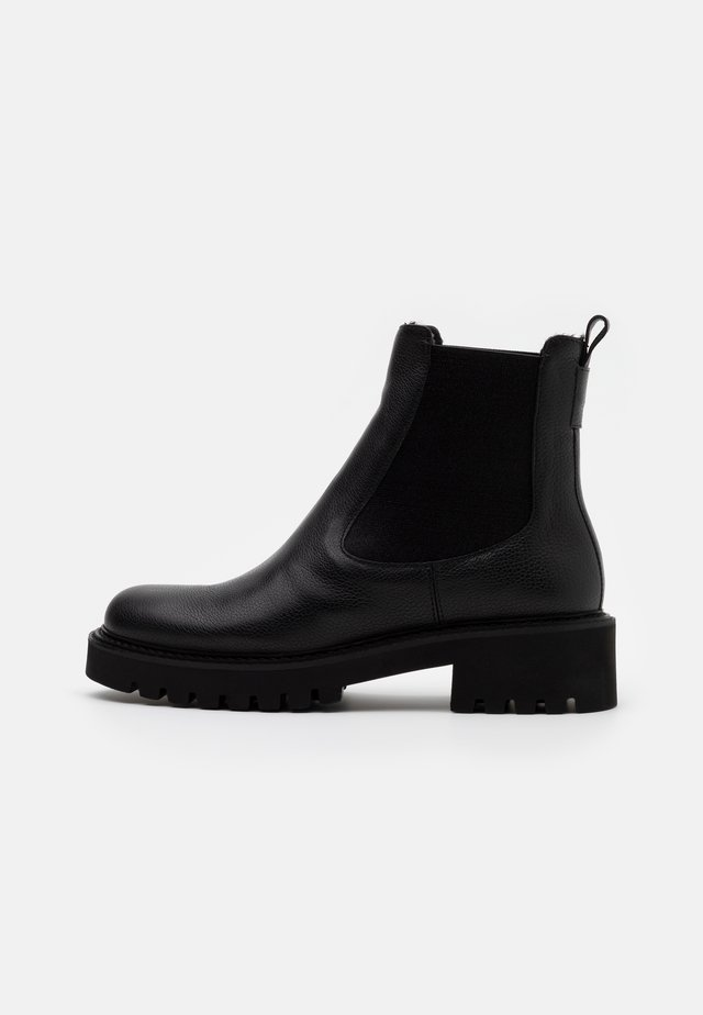 ROW - Platform ankle boots - black