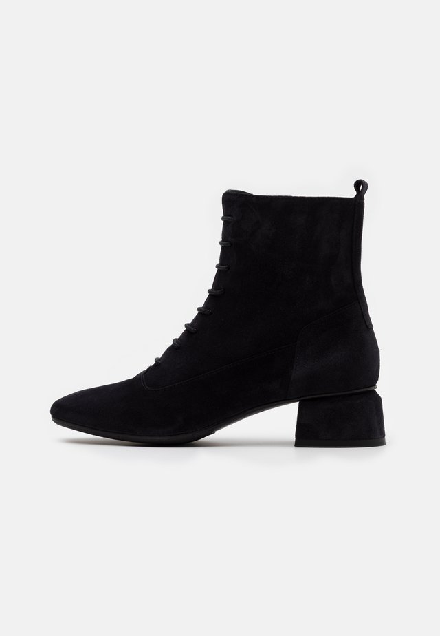 KRETA - Lace-up ankle boots - sirena