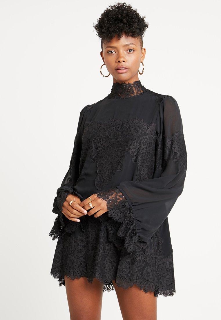 We are HAH - QUEEN A DAY DRESS - Vestido de cóctel - noir combo
