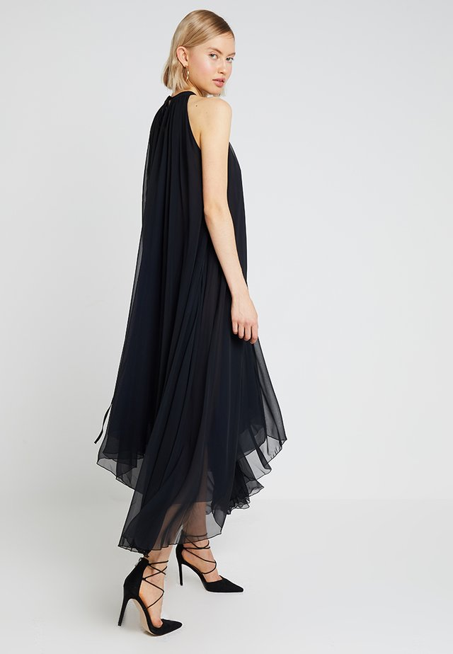 SPLIT AT THE SEAMS DRESS - Maxi dress - noir combo