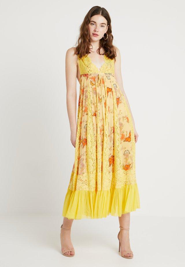 I'LL TAKE U FARRER DRESS - Maxi dress - b&bs butter combo