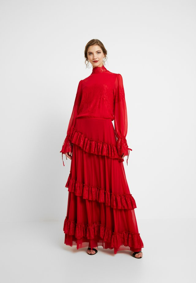 THE OSCARS DRESS - Maxikjoler - rouge red
