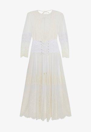 HIDDEN GEM DRESS - Vestido largo - blanc