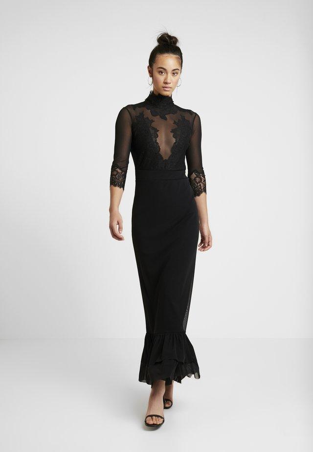REVERSIBLE TAKE HAH BOW DRESS - Festklänning - black