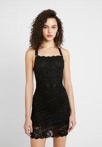We are HAH - TIGHT SQUEEZE DRESS - Sukienka koktajlowa - noir - 0