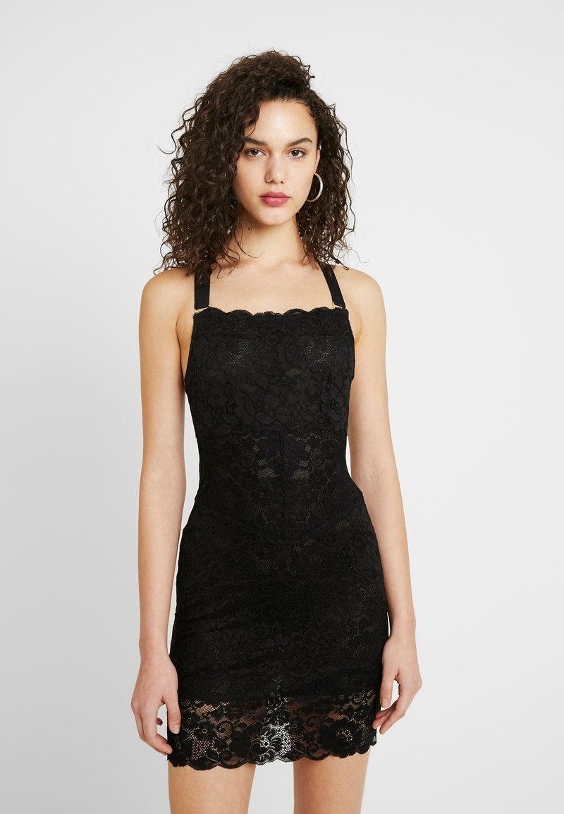 We are HAH - TIGHT SQUEEZE DRESS - Sukienka koktajlowa - noir