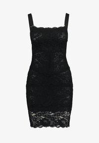 We are HAH - TIGHT SQUEEZE DRESS - Sukienka koktajlowa - noir - 4