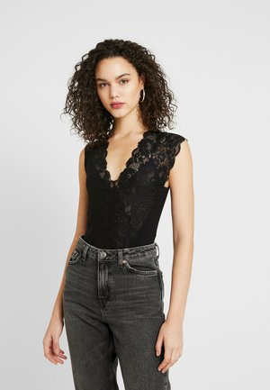 LADY LIKE BODYSUIT - Blus - black