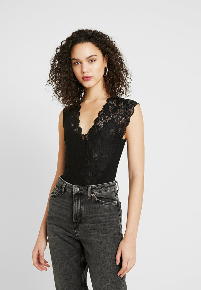 LADY LIKE BODYSUIT - Blouse - black