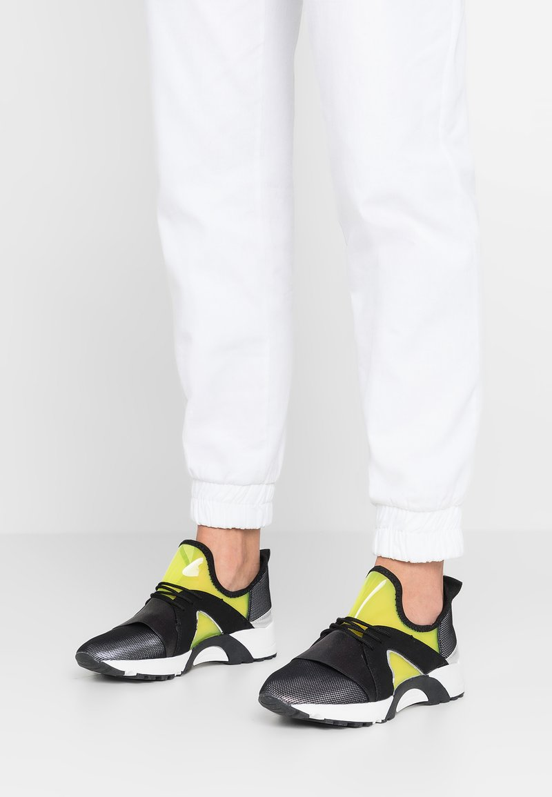 Hot Soles - Trainers - black/yellow neon