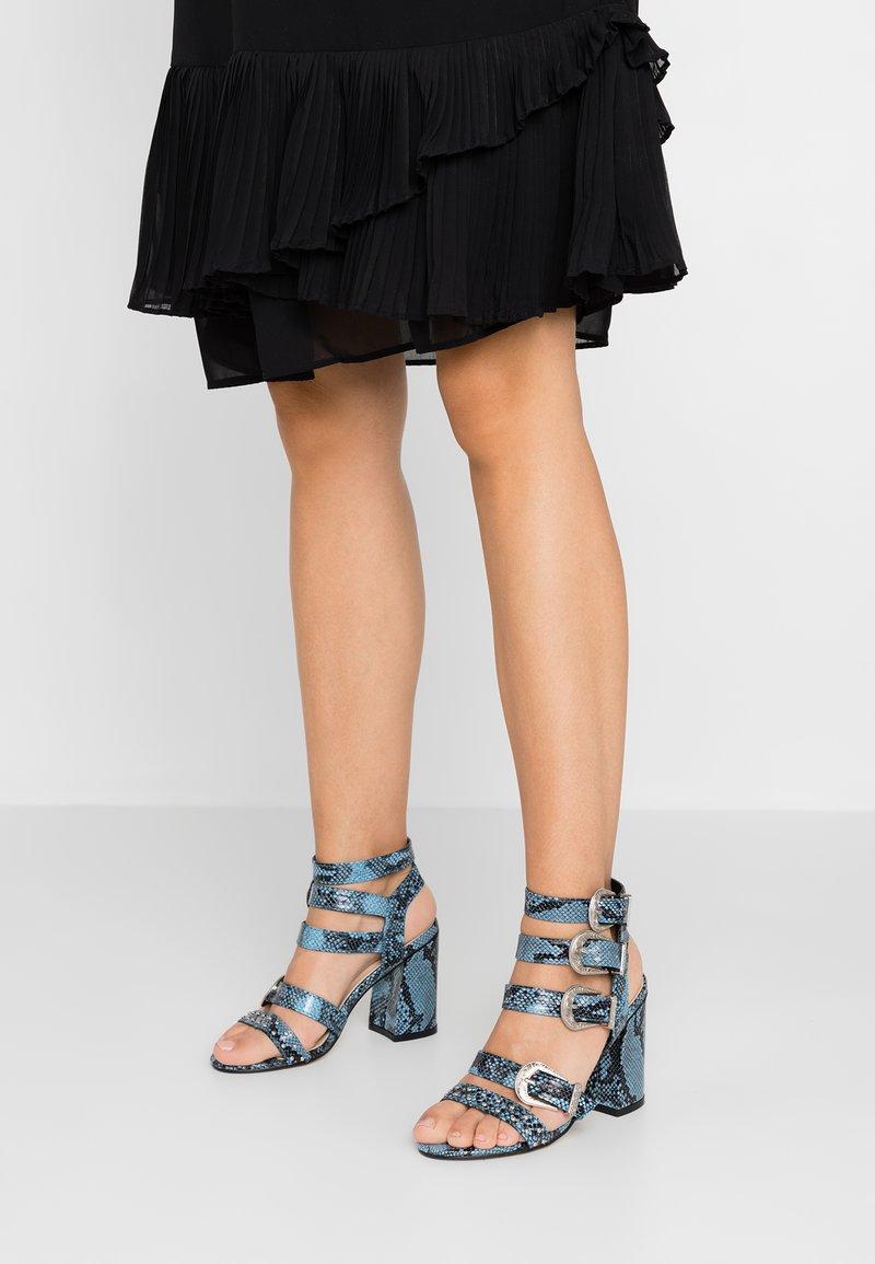 Hot Soles - High heeled sandals - blue
