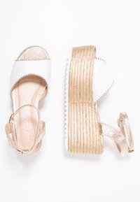 Hot Soles - High heeled sandals - white - 3