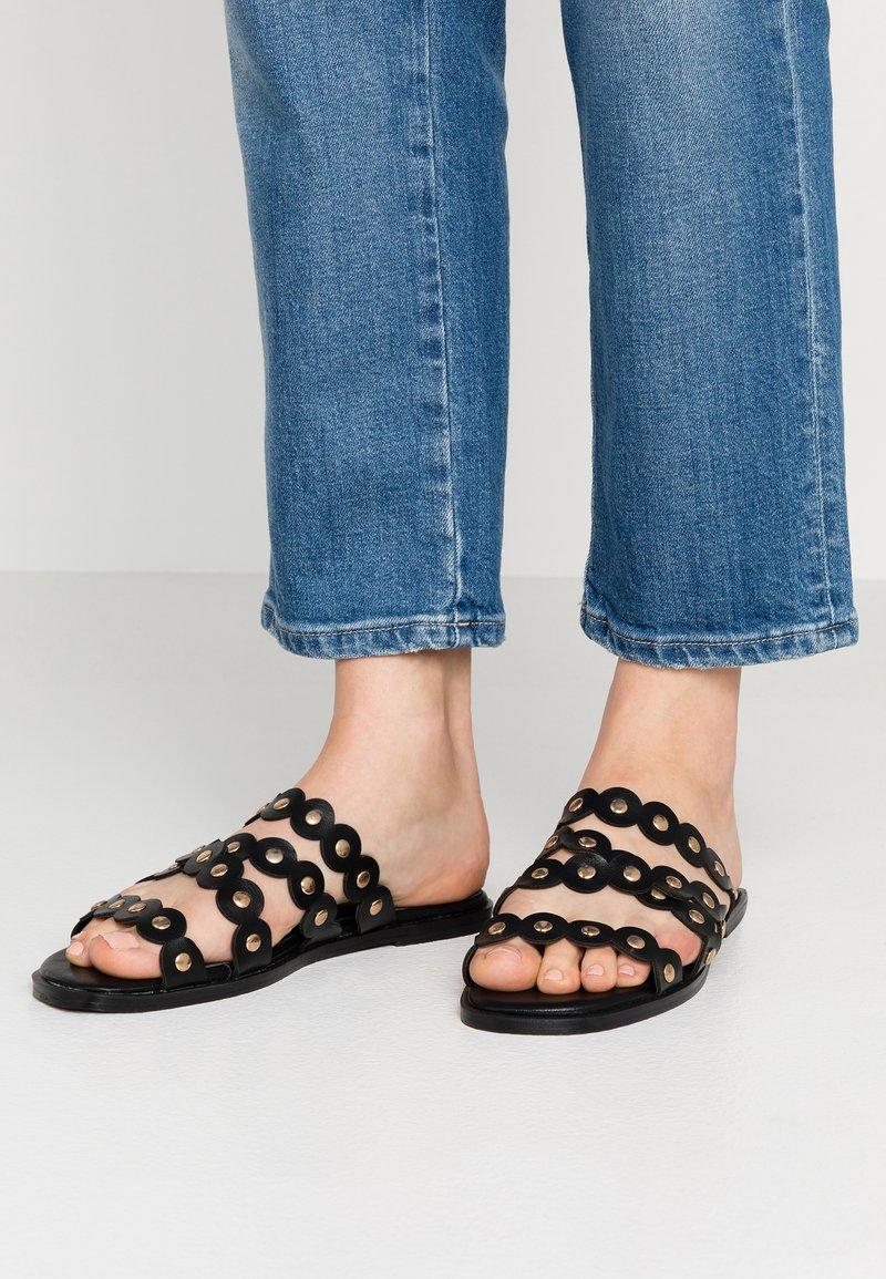 Hot Soles - Pantolette flach - black