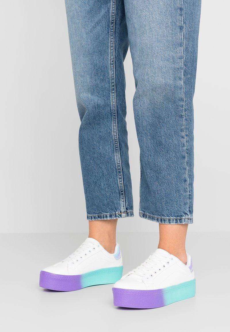 Hot Soles - Sneaker low - white/purple