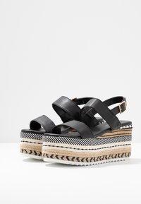 Hot Soles - Sandály na vysokém podpatku - black - 4