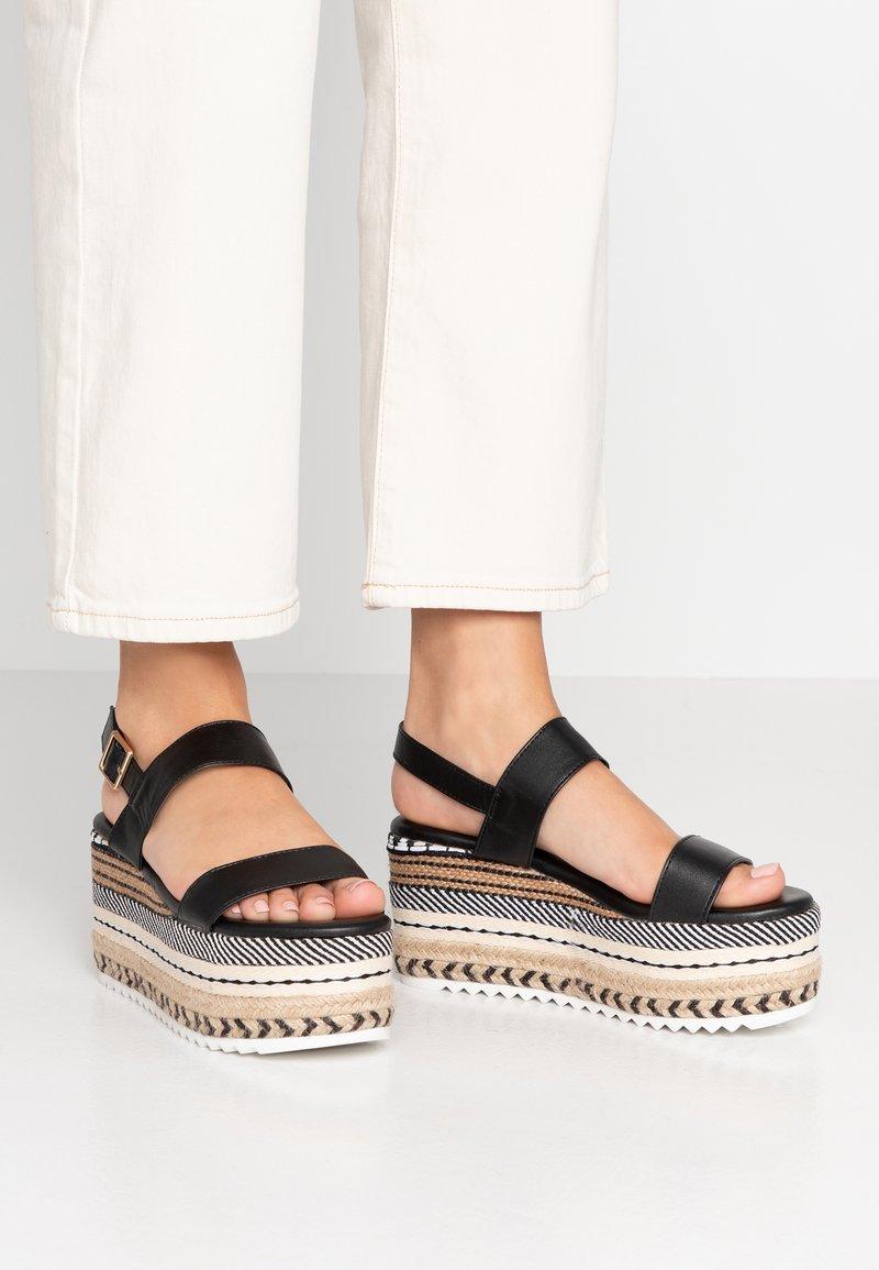 Hot Soles - Sandály na vysokém podpatku - black