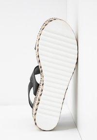 Hot Soles - Sandály na vysokém podpatku - black - 6