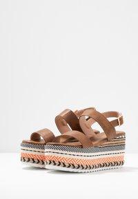 Hot Soles - Korolliset sandaalit - orange/multicolor - 4