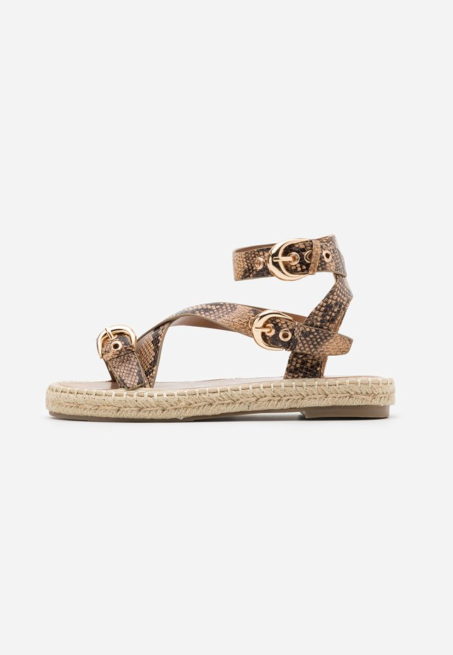 Espadrilky - taupe