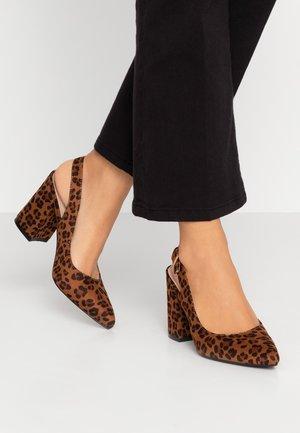 Høye hæler - brown