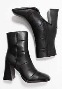 Hot Soles - High heeled ankle boots - black - 3