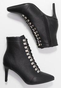 Hot Soles - Šněrovací kotníkové boty - black - 3