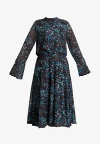 Hope & Ivy Petite - HANKY HEM MIDI DRESS WITH SLEEVE - Cocktail dress / Party dress - blue - 5