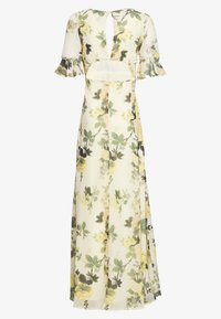 Hope & Ivy Petite - FLUTED SLEEVE OPEN BACK MAXI - Maxi dress - yellow - 1