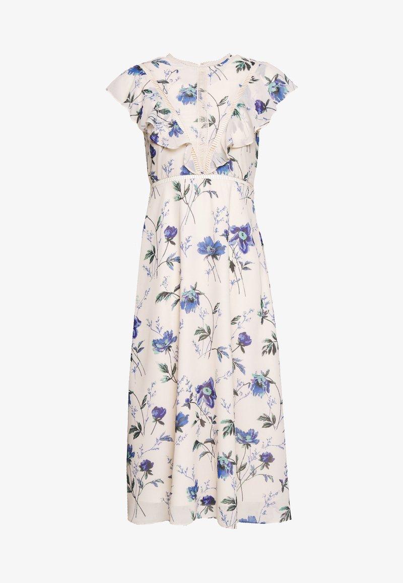 Hope & Ivy Petite - Sukienka koktajlowa - white/blue
