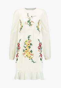 Hope & Ivy Tall - EMBROIDERED LONG SLEEVE MINI - Cocktail dress / Party dress - cream - 4