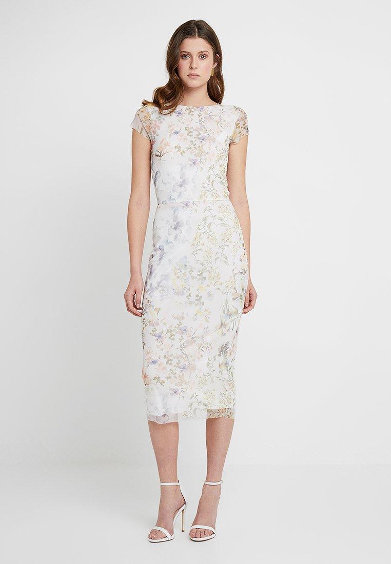 Hope & Ivy Tall - Koktejlové šaty/ šaty na párty - špinavě bílá