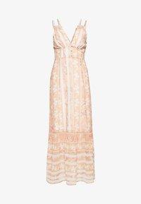 Hope & Ivy Tall - Maxi šaty - offwhite/orange - 0