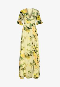 Hope & Ivy Tall - FLUTED SLEEVE OPEN BACK MAXI - Robe longue - yellow - 3