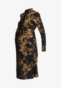 Hope & Ivy Maternity - MIRROR PRINT PENCIL DRESS - Vapaa-ajan mekko - black - 5