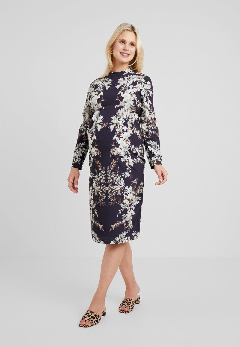 Hope & Ivy Maternity - MIRROR PRINT PENCIL DRESS - Robe d'été - multicolor
