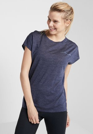 ACTIVIST MESSAGE TEE - T-shirt z nadrukiem - bucket blue