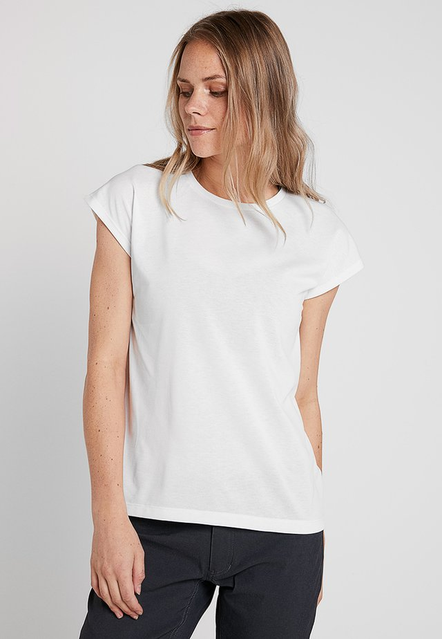 BIG UP TEE - T-shirt basic - powderday white