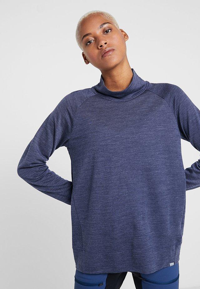 CAMPUS CREW - T-shirt sportiva - bucket blue